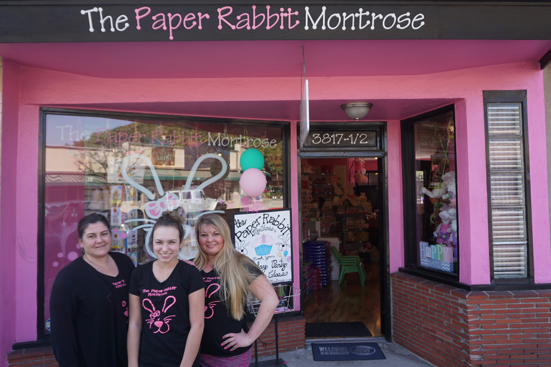 The Paper Rabbit Montrose Indigo Payments Customer